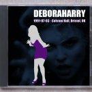 Blondie Debbie Harry Live 1991 Colston Hall Bristol UK CD