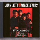 Joan Jett Live 1982 Canada El Mocambo Toronto FM SBD CD
