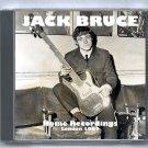 Jack Bruce Live 1962 London Home Studio Recordings CD