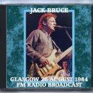Jack Bruce Live 1984 Scotland Glasgow Mayfair Club FM SBD CD