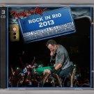 Bruce Springsteen Live 2013 Brazil Rio de Janeiro Rock in Rio 3-CD