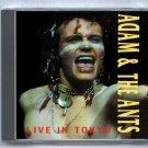 Adam Ant Live 1981 Tokyo Japan Nakano Sunplaza SBD CD