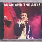 Adam Ant Live 1981 Los Angeles The Roxy Theatre CD