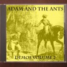 Adam Ant Demos Volume #2 Outtakes Unreleased Rehearsals 2-CD
