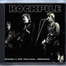 Rockpile Live 1979 Paris France Theatre de L'Empire FM Broadcast CD
