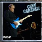 Glen Campbell Live 2011 Nashville Tennessee Ryman Auditorium CD