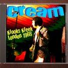 Cream Live 1966 London West Hamstead Klooks Keek R&B Club SBD CD