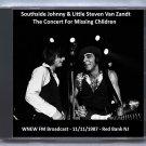 Southside Johnny & Little Steven Live 1987 New Jersey Count Basie Theatre FM CD