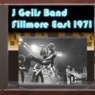 J. Geils Band Live 1971 New York City Fillmore East FM Broadcast CD