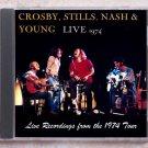Crosby, Stills, Nash & Young Live 1974 Tour Album CD
