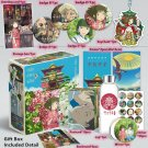 Deluxe Spirited Away Ultimate Fan Collectible Gift Box Water Bottle Posters Postcards