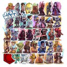 50 Pcs PVC Non Repeat Star Wars Stickers Laptop Phone Bicycles Skateboard Guitar Luggage