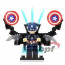 Captain America Action Figure Minifigure Collectible Doll Toy