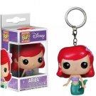 Little Mermaid Ariel Funko Pocket POP! Keychain Action Figure Minifigure Doll Toy