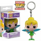 Peter Pan Tinkerbell Funko Pocket POP! Keychain Action Figure Minifigure Doll Toy
