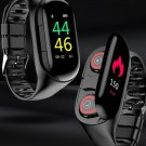 TWS Bluetooth 5.0 Wireless Earphones + Smart Watch with Heart Rate Monitor iOS And