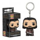 Game of Thrones Jon Snow Funko Pocket POP! Keychain Action Figure Minifigure Doll Toy