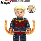 Captain Marvel Action Figure Minifigure Collectible Doll Toy