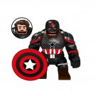 Captain America Action Figure Minifigure Big Figure Collectible Doll Toy Decoration