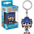 Sonic the Hedgehog Funko Pocket POP! Keychain Action Figure Minifigure Doll Toy