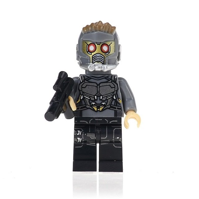 Star-Lord Action Figure Minifigure Block Bricks Toy Doll
