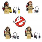 Ghostbusters Action Figure Minifigure Block Bricks Toy Doll Set