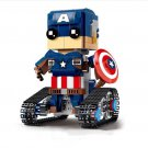 Captain America RC Remote Control Robot Building Block Bricks Toy Doll