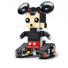 Mickey Mouse RC Remote Control Robot Building Block Bricks Toy Doll