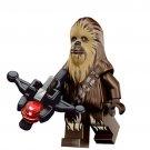 Star Wars Chewbacca Action Figure Minifigure Block Bricks Toy Doll