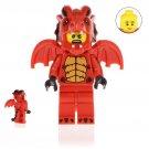 Dragon Suit Guy Action Figure Minifigure Block Bricks Toy Doll