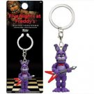 Five Nights at Freddy's Bonnie Action Figure Minifigure Keychain Toy Doll