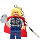 Thor Action Figure Block Bricks Toy Doll Keychain