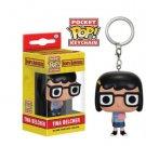Bob's Burgers Tina Belcher Funko Pocket POP! Keychain Action Figure Minifigure Doll Toy