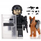 Police SWAT Action Figure Minifigure Block Bricks Toy Doll