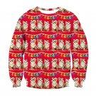 Ugly Christmas Men's Women's Long Sleeve 3D Printed Shirt