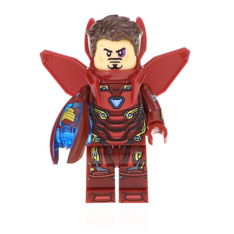 Iron Man MK 50 Action Figure Minifigure Block Bricks Toy Doll