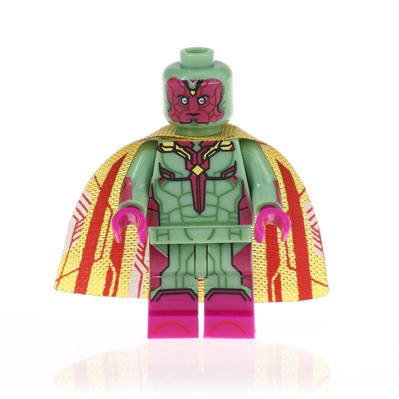 Vision Action Figure Minifigure Block Bricks Toy Doll