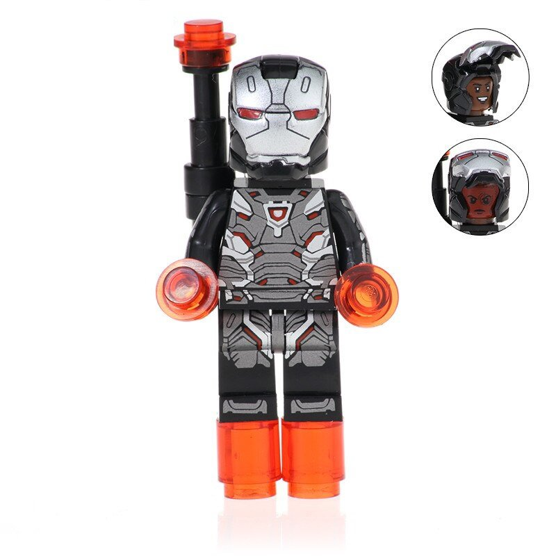 War Machine Action Figure Minifigure Block Bricks Toy Doll