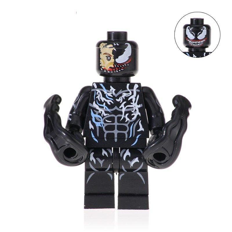Venom Action Figure Minifigure Block Bricks Toy Doll