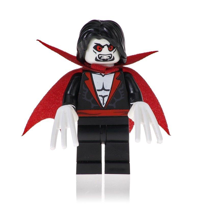 Morbius Action Figure Minifigure Block Bricks Toy Doll