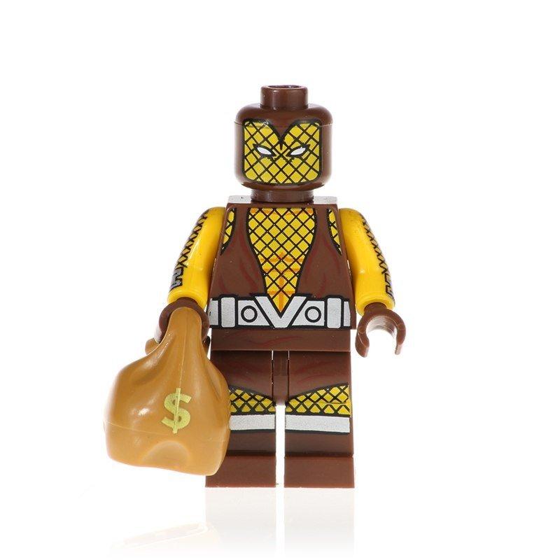 Shocker Action Figure Minifigure Block Bricks Toy Doll