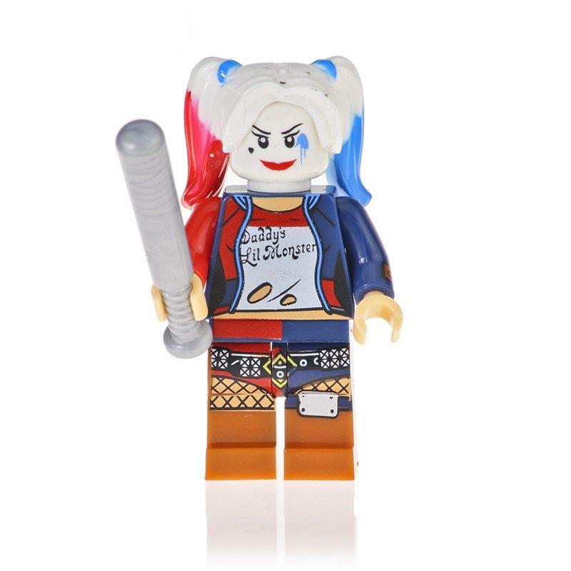 Harley Quinn Action Figure Minifigure Block Bricks Toy Doll