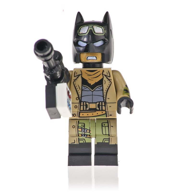 Knightmare Batman Action Figure Minifigure Block Bricks Toy Doll