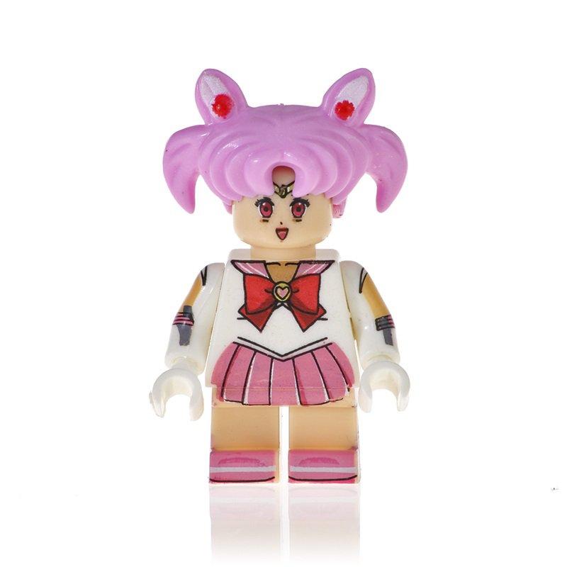 Sailor Moon Action Figure Minifigure Block Bricks Toy Doll