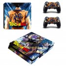 Dragon Ball Vinyl PS4 Game System Stickers Set Skin Decals Stickers For Console and 2 Controllers