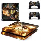 Mortal Kombat II Vinyl PS4 Game System Stickers Set Skin Decals For Console and 2 Controllers