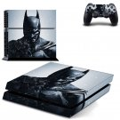Batman Vinyl PS4 Game System Stickers Set Skin Decals For Console and 2 Controllers