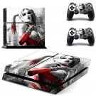 Harley Quinn Vinyl PS4 Game System Stickers Set Skin Decals For Console and 2 Controllers