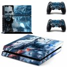 Game of Thrones Vinyl PS4 Game System Stickers Set Skin Decals For Console and 2 Controllers