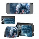 Game of Thrones Vinyl Nintendo Switch Game System Stickers Set Skin Decals